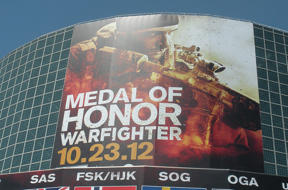Medal of Honor Warfighter banner