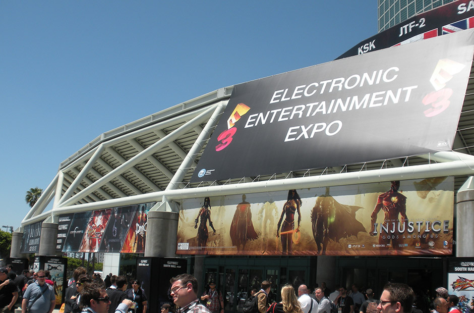 LA Convention Center during E3