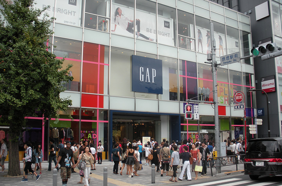 GAP store in Harajuku