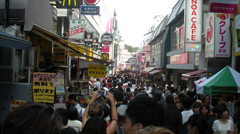 Takeshita Dori on a Harajuku Sunday