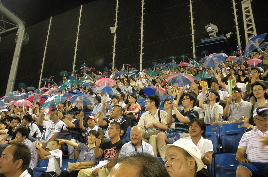 Tokyo Swallows fans