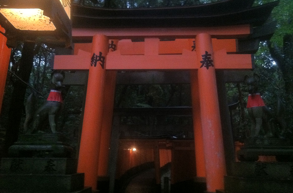 Path of Torii gates