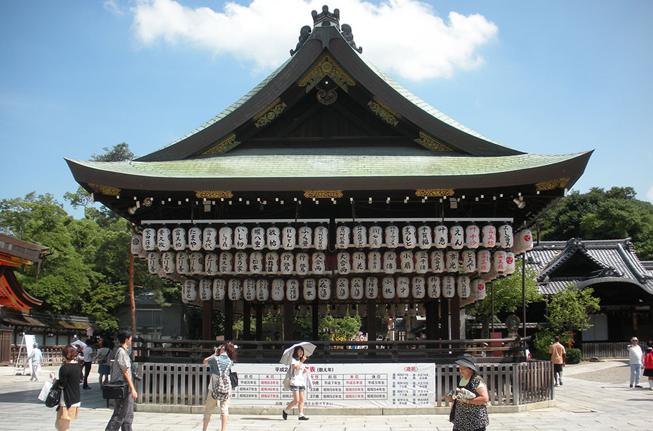 Yasaka Shrine dance stage