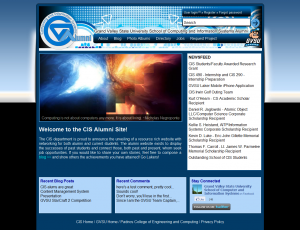 GVSU CIS Alumni Website